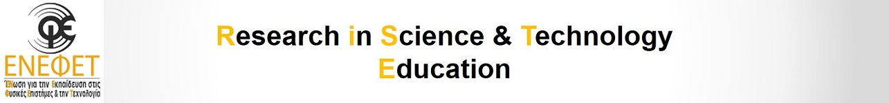 Journal of Research in Science and Technology Education